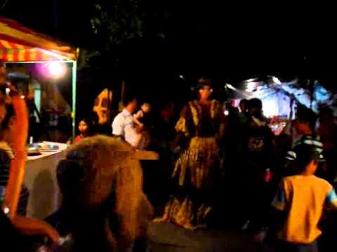 Fête de village à Leon au Nicaragua