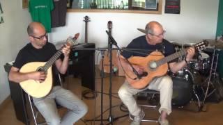 Fermando Gomes Guitarra Clássica Prof Ricardo Costa Fado das Andorinhas JUN 2016