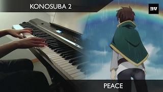 KonoSuba 2 - (Ep 3 BGM) 安息の地へ (M-56) Piano Cover