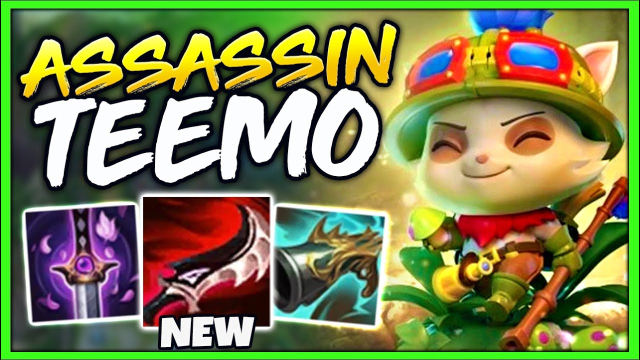 Manco1 - *INVISIBLE TEEMO* LEARN HOW TO GET CARRIED WITH THE NEW ASSASSIN BUILD - League of Legends