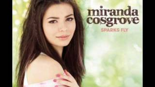 "Miranda Cosgrove ""Kissing U"" Music Sparks Fly"