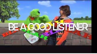 """How to Listen - """"Blah Blah Blah"""" Kids Song"""
