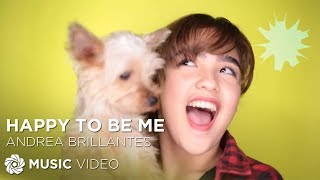 Andrea Brillantes - Happy To Be Me (Official Music Video)