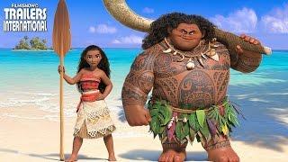 Moana: Um Mar de Aventuras - animação com a nova princesa Disney | Trailer
