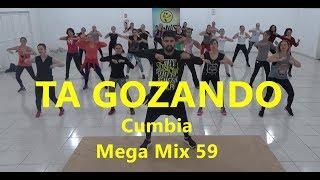 Zumba® - Mega Mix 59 Cumbia -Ta Gozando - Coreografia l Cia Art Dance