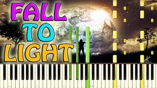 Laszlo - Fall to light Piano Cover on Synthesia + Midi file