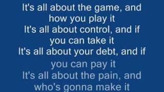 WWE's Triple H's Theme Song (Motorhead-The Game) w/ lyrics