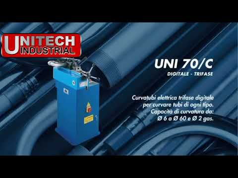 Unitech Industrial Digital 230VAC Pipe and Tube Bender