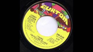 Leroy Hutson I Think I'm Falling In Love
