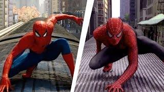 (v1) Spider-Man PS4 Recreating Spider-Man 2 Train scene