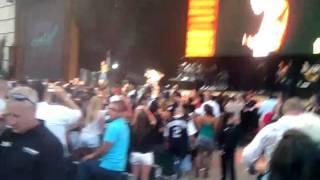 Chris Brown and Big Sean My last @ks 1075 Summer Jam 2k11