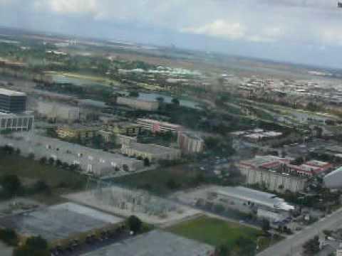 USA Florida, Miami View from the Plane