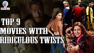 Top 9 Worst Bollywood Movies with Ridiculous Twists | Top 9 | Brainwash