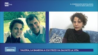 Fabrizio Frizzi mi salvò la vita donandomi il midollo osseo - La Vita in Diretta 26/03/2018