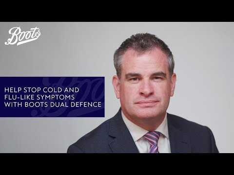 Help Stop Cold and Flu-Like Symptoms with Boots Dual Defence | Boots UK