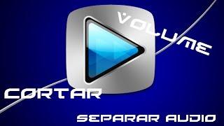 Sony Vegas - Como cortar, separar áudio do vídeo, aumentar e abaixar volume .