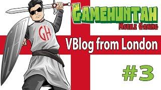 Huntah in London - VBlog  #3 - So tired !!