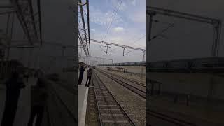 Railway Electrification - high rise OHE width=