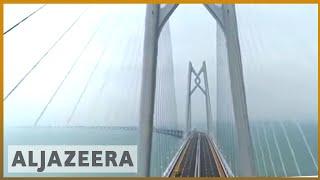 🇨🇳 China opens world's largest sea bridge to territories | Al Jazeera English