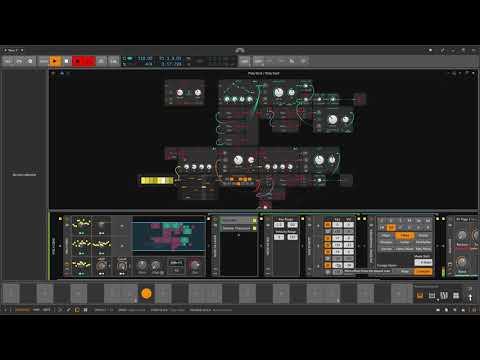 Some Chords - Ambient Grid Performance - Bitwig Studio #Gridnik