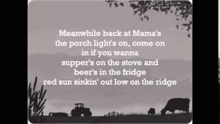 Meanwhile Back at Mama's Lyrics