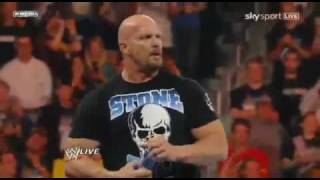 Stone Cold Steve Austin Beer Bash WWE Raw 4/4/11