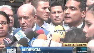 Difieren audiencia de Leopoldo López y 4 estudiantes