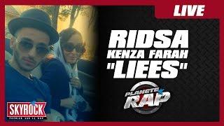 """Ridsa """"Liées"""" feat Kenza Farah en live #PlanèteRap"""