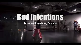 "NATSUKA ""Bad Intentions/Niykee Heaton, Migos""@En Dance Studio SHIBUYA"