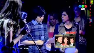 """Azul canta con Manuelito y Maia """"Ahora o Nunca"""" #ALIADOS"""