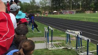 Mady Rose 7 years Old Very First Track Meet 100m Dash