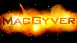 MacGyver | official trailer #1 (2016) SDCC Lucas Till