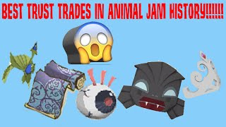 BEST TRUST TRADES IN ANIMAL JAM HISTORY!!!!