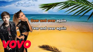 Nathan Sykes feat. Ariana Grande Over and Over Again Karaoke
