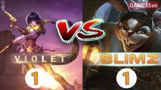 Slimz vs Violet - Ai sẽ là xạ thủ bá đạo nhất trong Liên Quân Mobile?