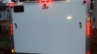 Triton TC128 Hybrid Snowmobile Trailer Review