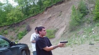 glock 40 cal + bersa 45