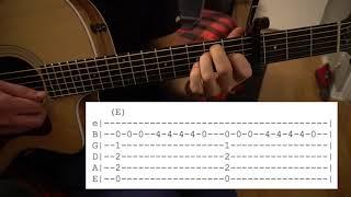TEST DRIVE  //Joji // Easy Guitar Lesson // Chords & Tab!