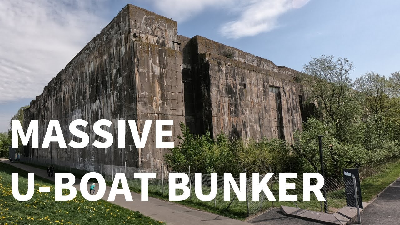 The Gigantic WWII U-Boat Bunker Near Bremen