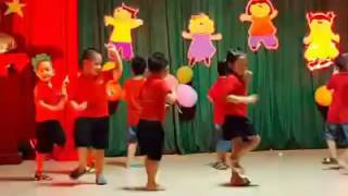 Mầm non Măng Việt The Hokey Pokey Simba 2016