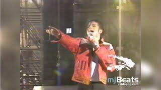 Michael Jackson Dangerous World Tour Oslo Norway 15-07-1992 Beat It (Logo Removed)