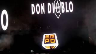 Don Diablo live at the EMPO Awards Mexico 2014