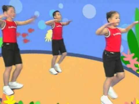1-3年級新式國民健身操  連續動作 - YouTube