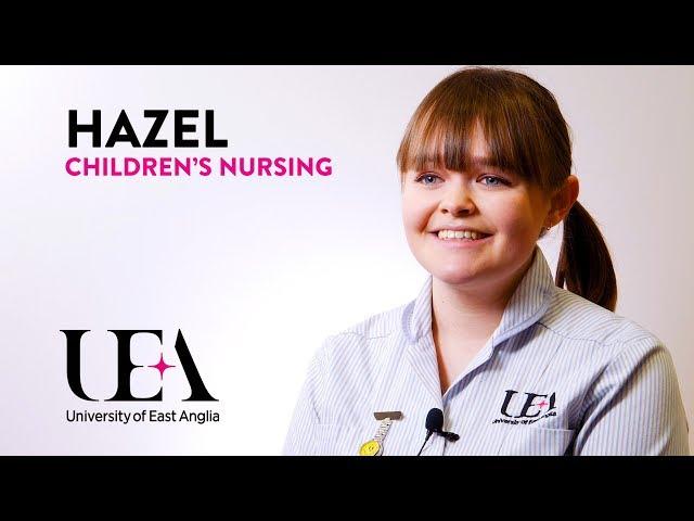Children's Nursing: Hazel's story - video