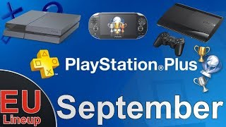 PS Plus Games EU September 2017 with Platinum Difficulty & Platinum Time [PS4- PS3 - PS Vita]