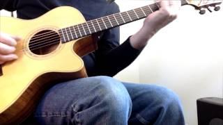 ROUNDABOUT fingerstyle guitar  Jeff Severson