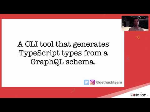 Web applications of the future with TypeScript and GraphQL