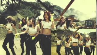 Girls' Generation 'Catch Me If You Can' MV with Jessica Jung and compare with the final version