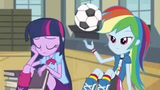 MLP Equestria Girls Brasil - Rainbow Rocks - Vem Dançar!