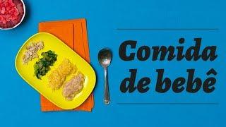 Comida de Bebê #11: Como montar o prato